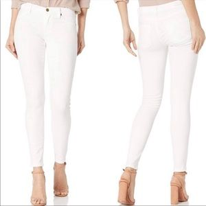 Blank NYC the Mercer, white skinny jeans, size 27